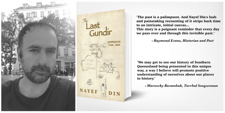"""Wi3W Ep 10 – Yarraka and Greg interview author, Nayef Din, about his new book, """"The Last Gundir"""""""