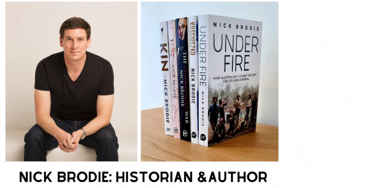 Wi3W Ep. 15 – Nick Brodie, Australian Historian, Archaeologist and Writer talks with Greg Dodge